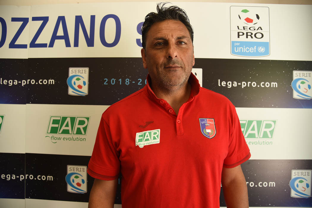 Mister Soda nel post partita Gozzano-Carrarese